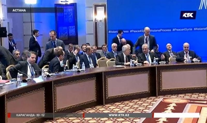 Переговоры по Сирии в Астане закончились взаимными претензиями