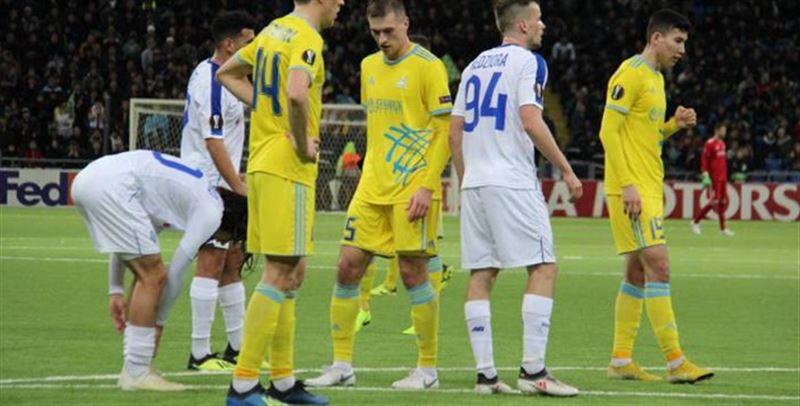 Еуропа лигасында «Астана» «Динамодан» жеңіліп қалды