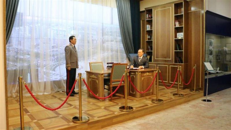 Восковая фигура Президента Казахстана появилась в Астане