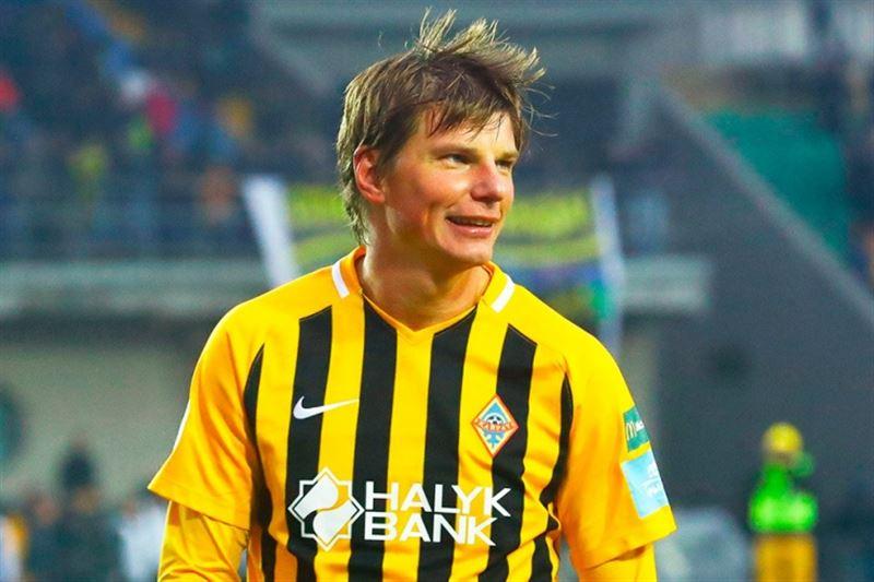 Аршавин попал в число 22 лучших футболистов чемпионата Казахстана