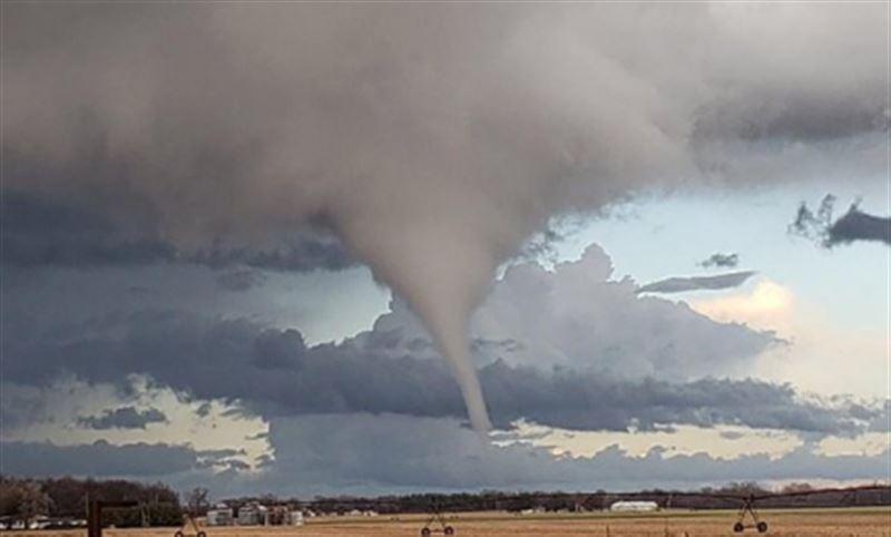 Торнадо обрушился на США. Есть пострадавшие