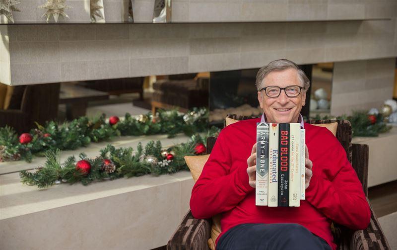 Билл Гейтс назвал пять лучших книг уходящего года