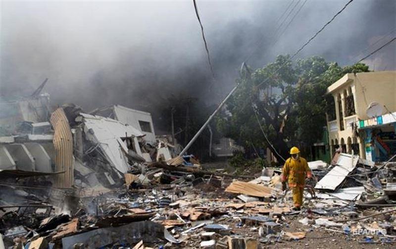 ФОТО: Зауытта газ жарылды, зардап шеккендер бар