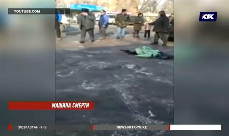 В Кыргызстане казахстанец за рулем грузовика сбил первоклассницу