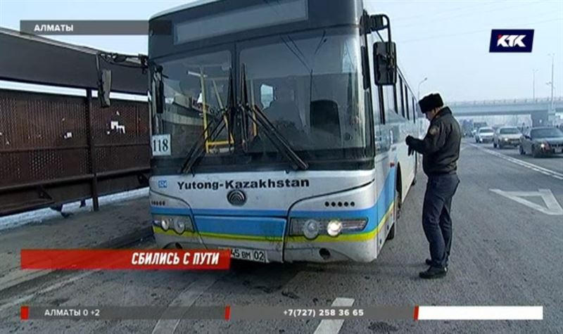 Алматинские водители выезжают на маршрут без прав, да еще в нетрезвом виде