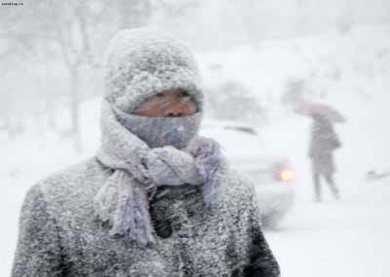 Гололед и мороз ожидаются на большей части Казахстана