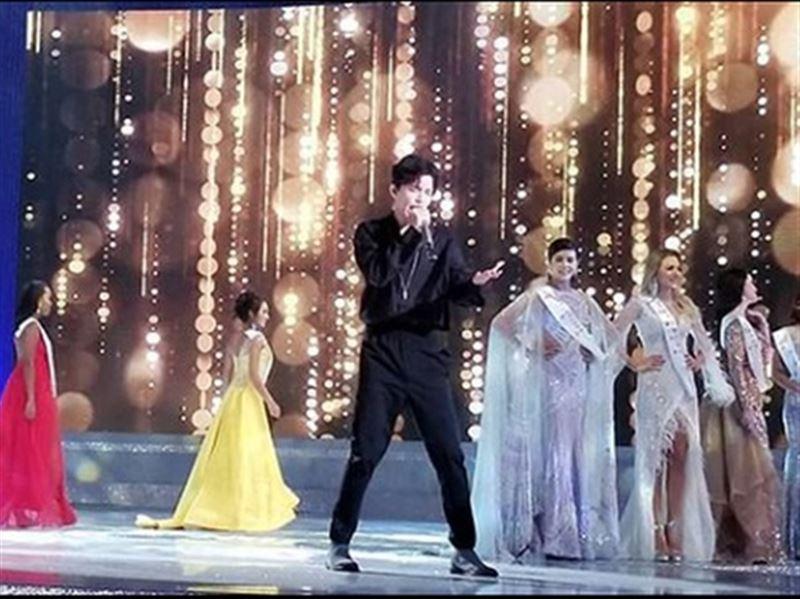 На «Мисс Мира-2018»  Димаш Кудайберген спел на казахском языке