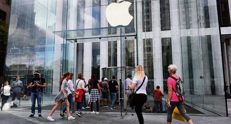 Наразылық білдірушілер Apple дүкенін тонады