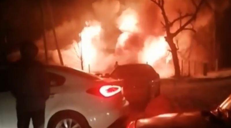 Пожар уничтожил мечеть в Северном Казахстане