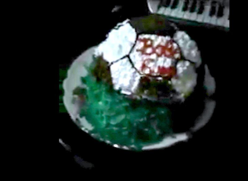 Оралда дүкеннен сатып алынған торт отбасын шошытты