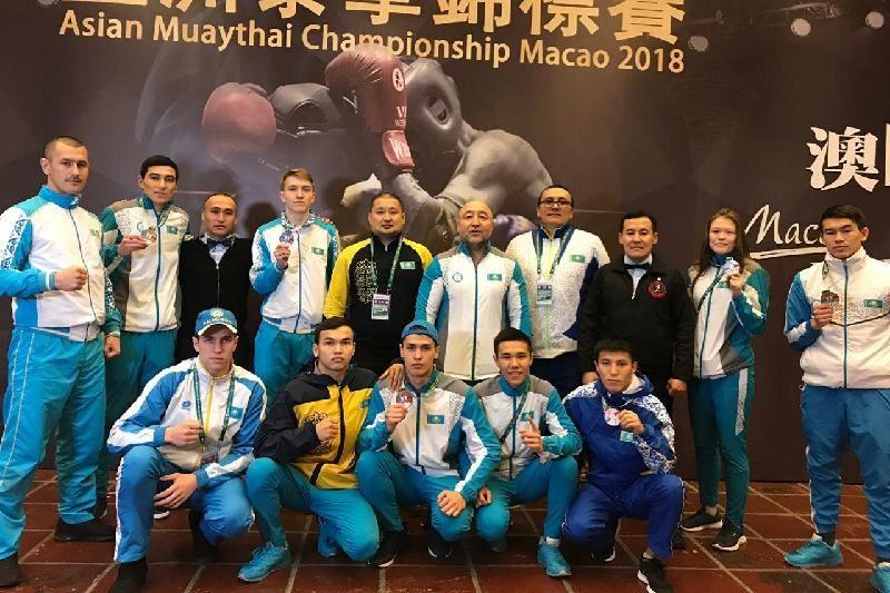 Қазақстан муай-тайдан Азия чемпионатында  7 медаль ұтты