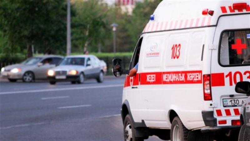 Мужчина выстрелил в лицо водителю скорой помощи в Алматы