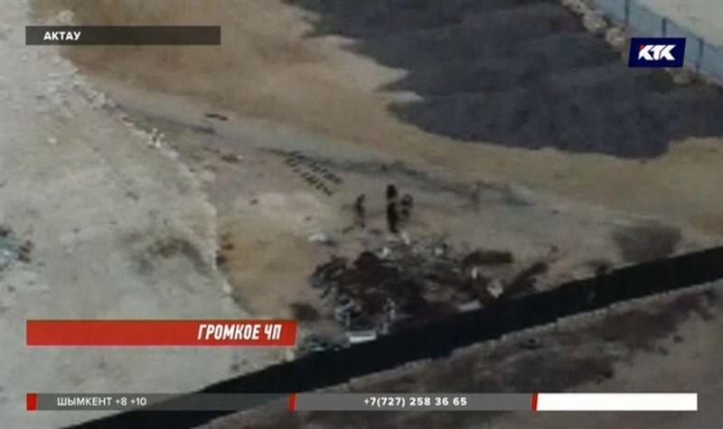 В Актау взлетел на воздух пункт приёма металла