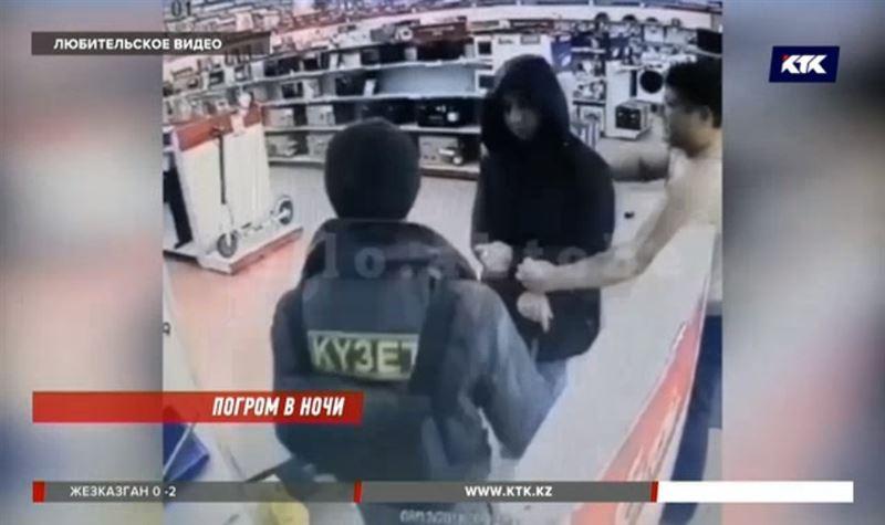 Нетрезвый актюбинец разгромил магазин техники