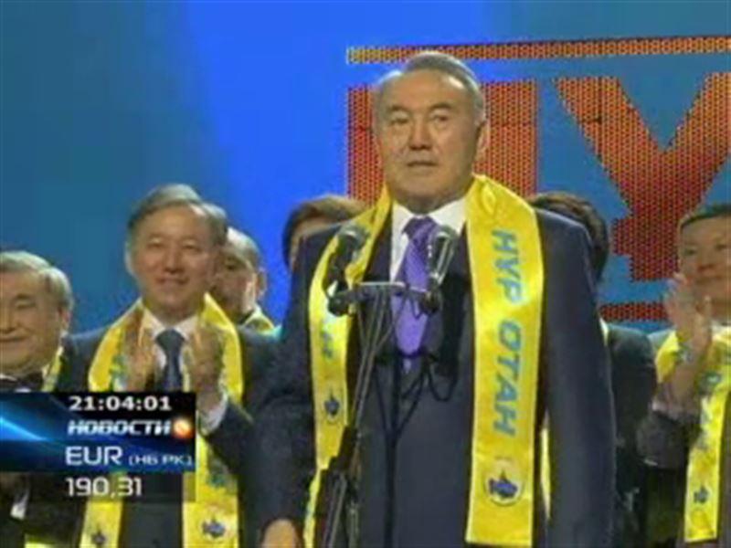 Партия Президента празднует победу