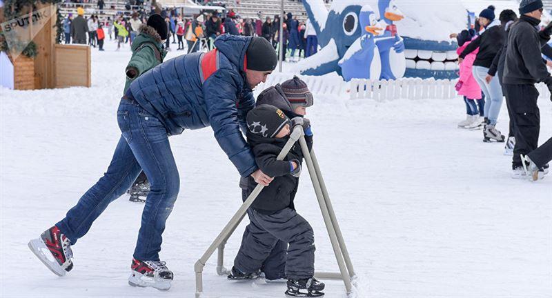 Астанада ең үлкен мұз айдыны ашылды