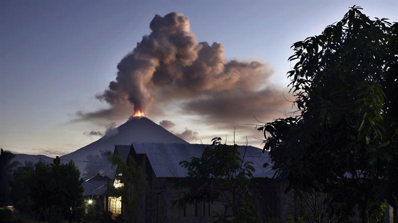В Индонезии произошло извержение вулкана