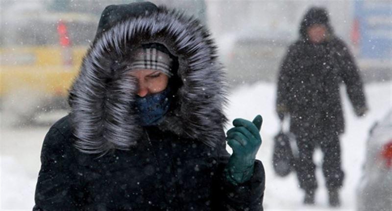 Прогноз погоды в Казахстане на понедельник, 17 декабря
