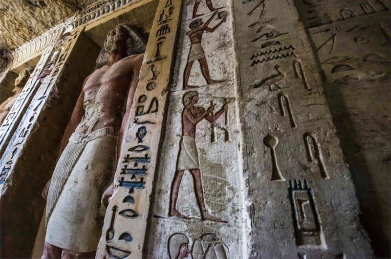 В Египте обнаружили нетронутую гробницу возрастом 4400 лет