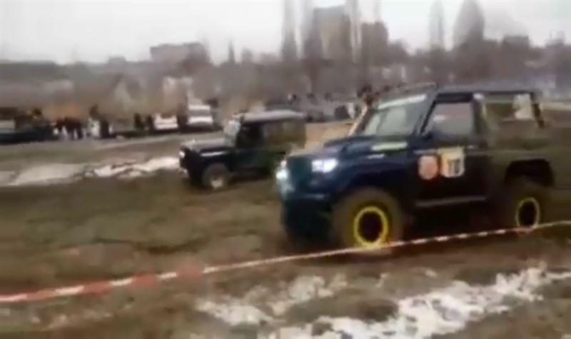 Алматыдағы джип жарыста бір адам қаза болды