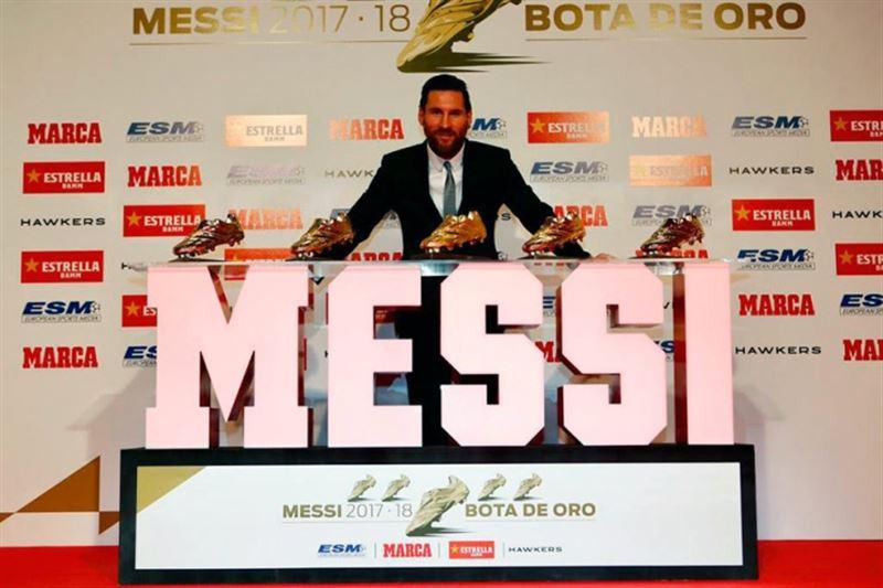 Месси получил пятую «Золотую бутсу» в карьере