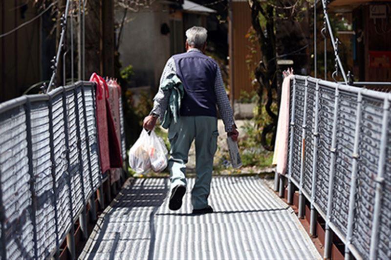 Японец больше года жил с усопшей супругой