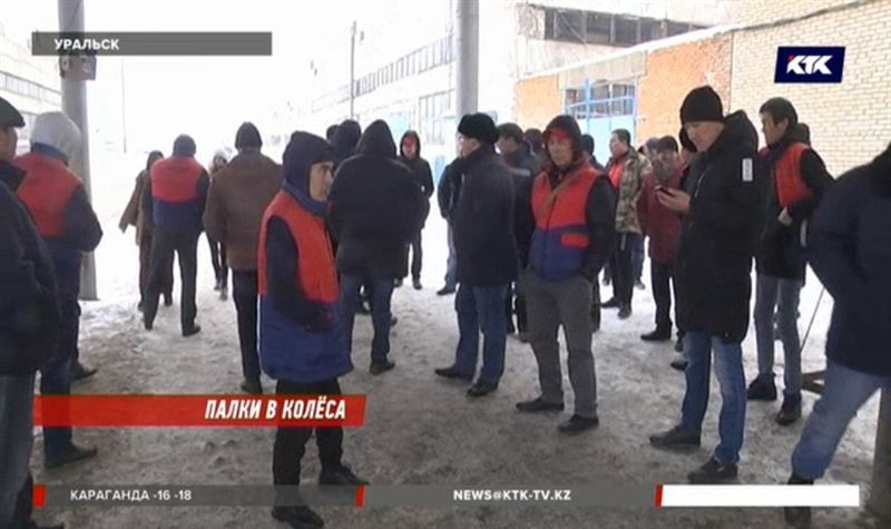 Уральские водители не выехали на маршруты из-за конфликта с новым начальством