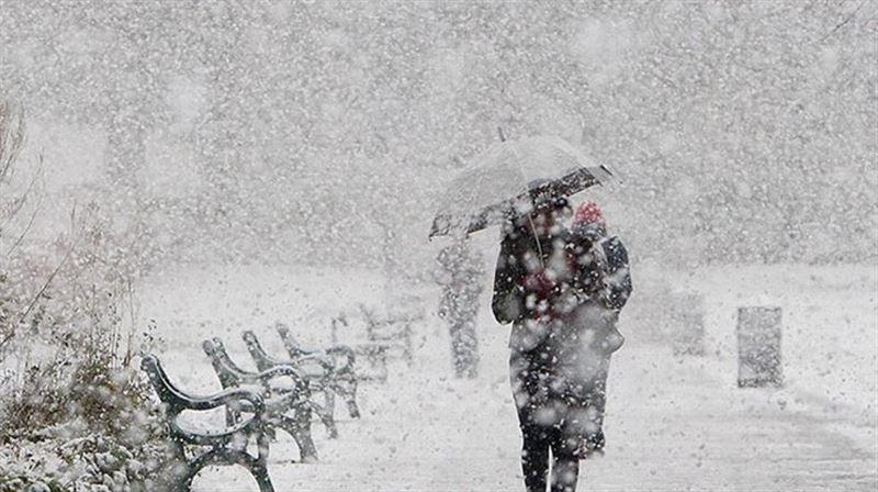 Снегопады пройдут почти во всех областях Казахстана 20 декабря