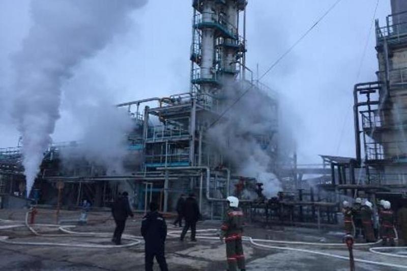 Жамбыл облысындағы газ өңдеу зауытында жарылыс болды