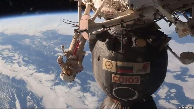 Экипаж корабля «Союз МС-09» вернулся на Землю