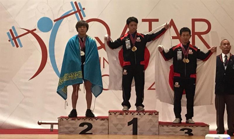 Казахстанский тяжелоатлет взял «серебро» на Кубке Катара