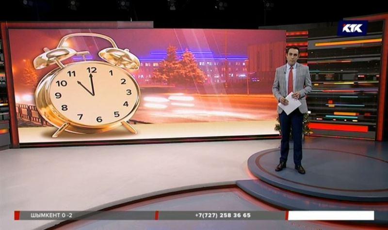 Жители Кызылординской области переведут стрелки часов