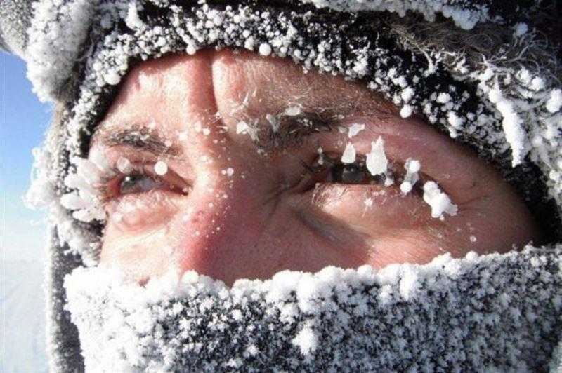Елімізде демалыс күндері 39°С дейін аяз болады