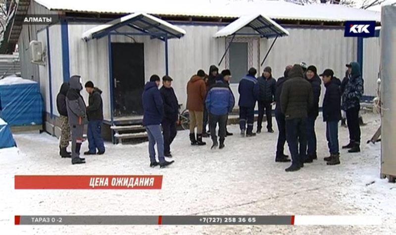 Алматинским строителям не на что накрыть праздничный стол