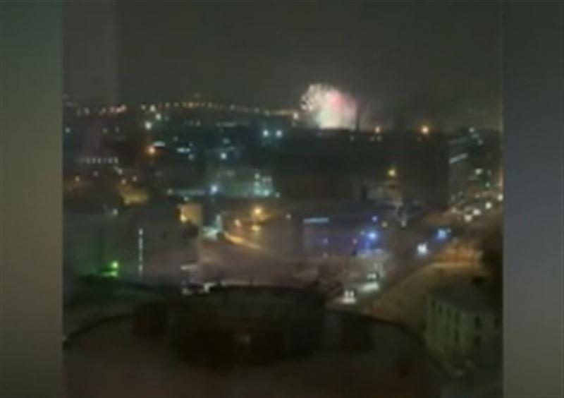 В Санкт-Петербурге на складе пиротехники произошел пожар