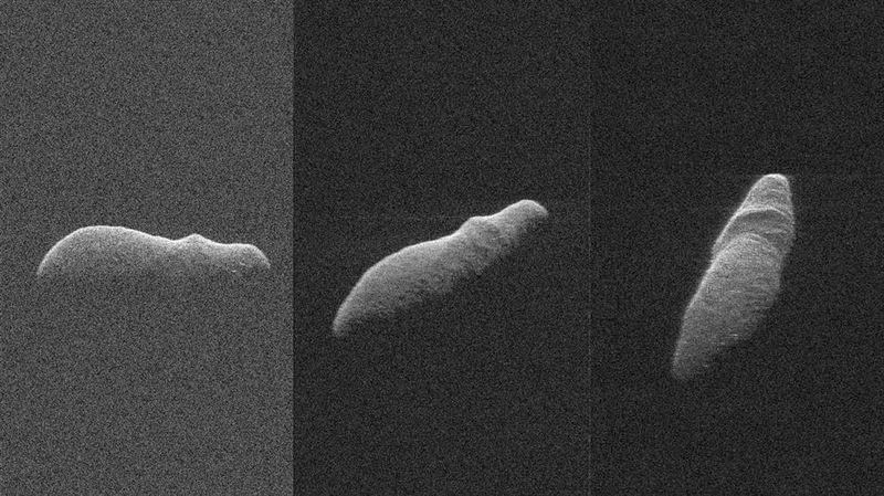 Неподалеку от Земли пронесся астероид в форме бегемота