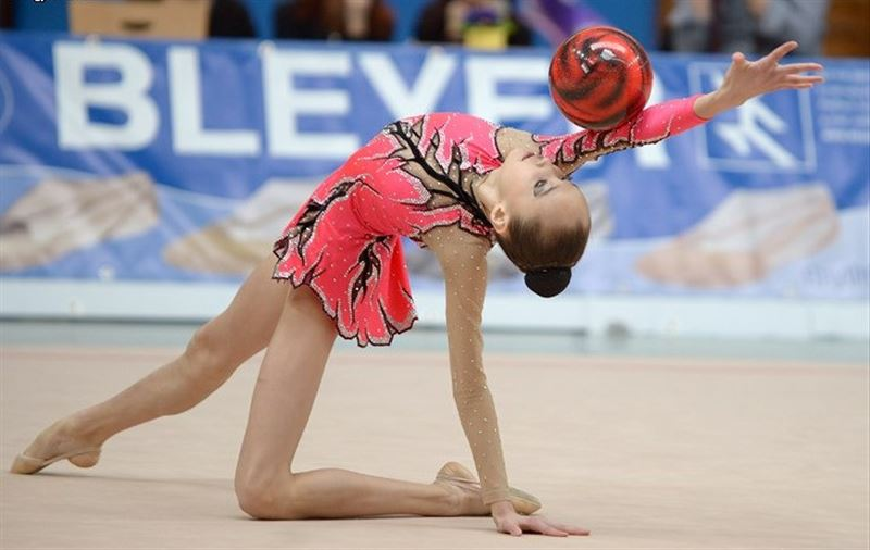 Айдана Сарыбай көркем гимнастикадан «Люксембург кубогінде» күміс иеленді