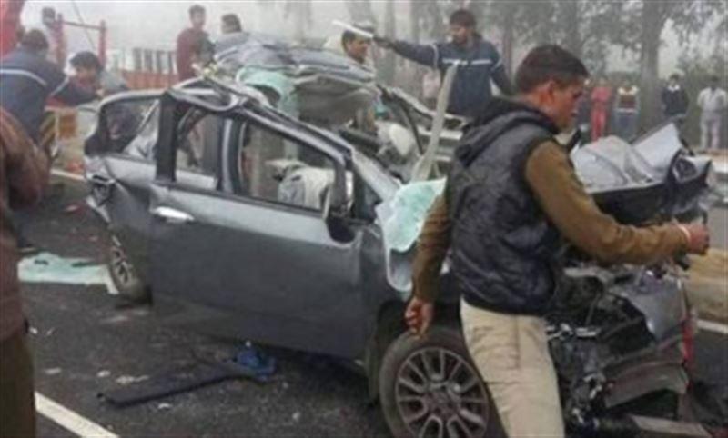 В Индии в результате столкновения 50 машин погибли люди