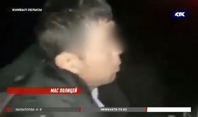 Мас күйінде көлік басқарып, жол апатына себепші болған полицейге қатысты тексеріс басталды