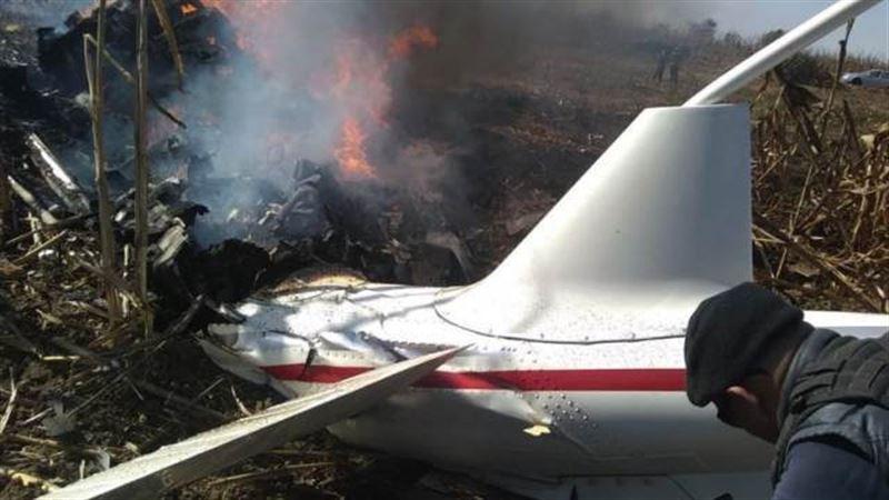 Мексиканский губернатор погибла при крушении вертолета