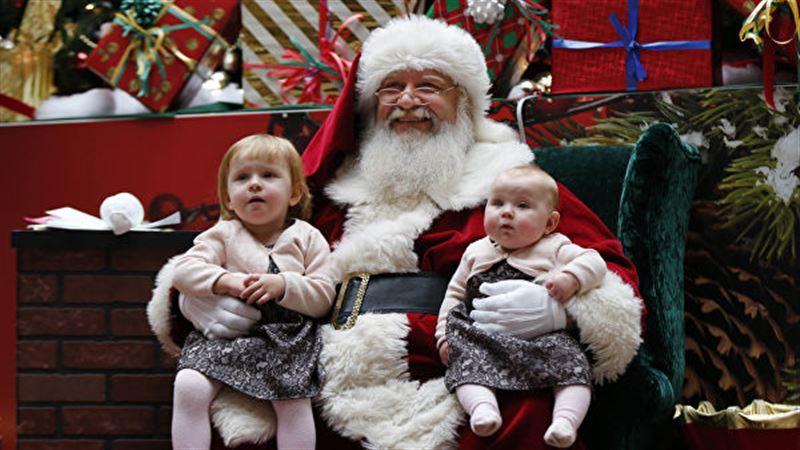 Санта-Клаус пролетел над Казахстаном
