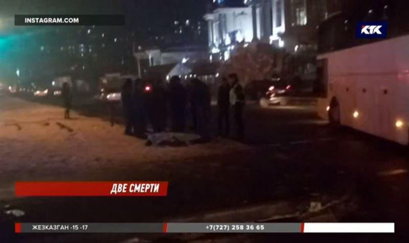 В Алматы в авариях с участием автобусов погибли люди