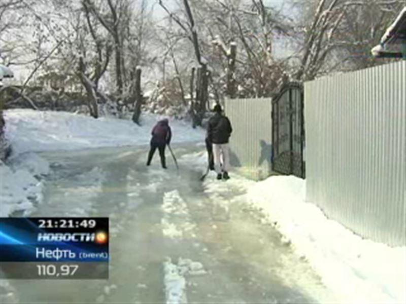 Настоящее бедствие терпят жители одного из пригородов Алматы