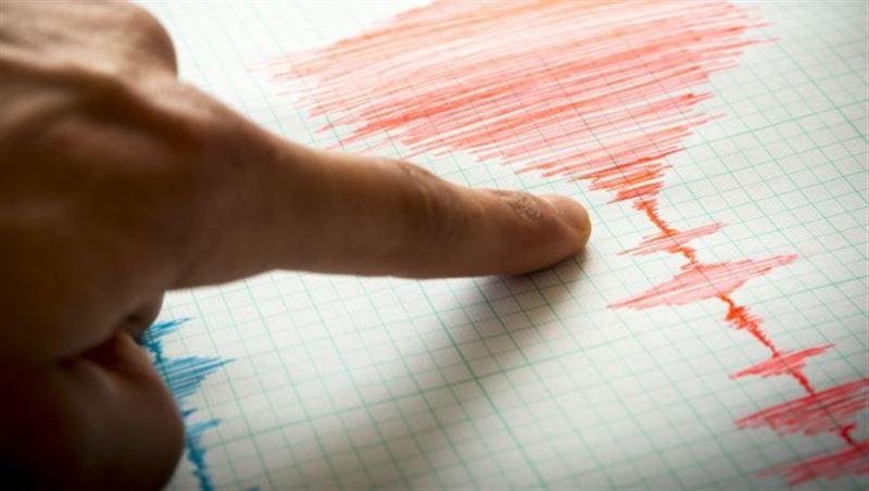 Землетрясение произошло в 405 км от Алматы