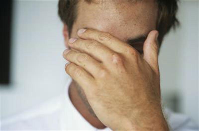 В Индии у мужчины из глаз пошли кровавые слезы