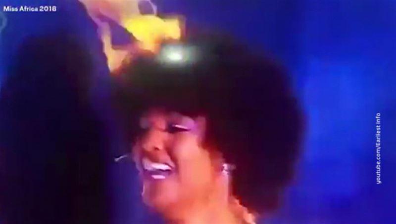«Мисс Африка» загорелась на церемонии награждения