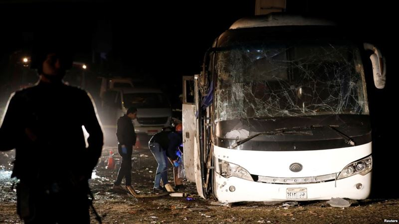 Автобус жарылысынан 4 адам мерт болды