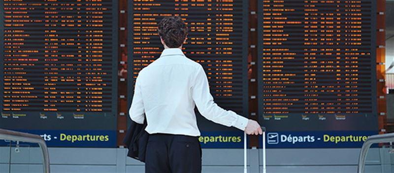 Алматыда бірқатар рейстер кейінге қалдырылды