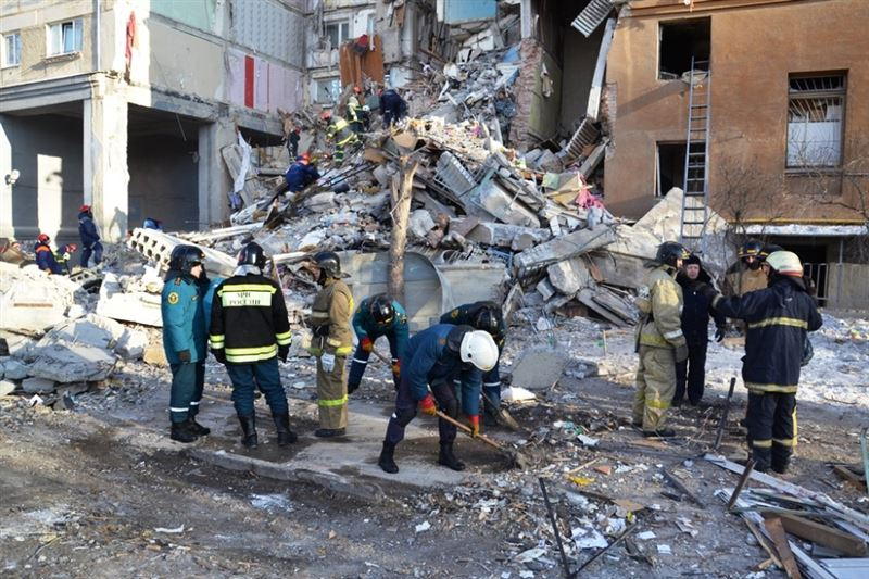 Число погибших при обрушении дома в Магнитогорске увеличилось до 33 человек