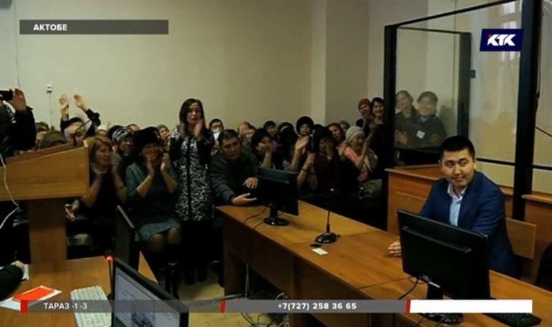 Потерпевшие устроили погром в актюбинском суде